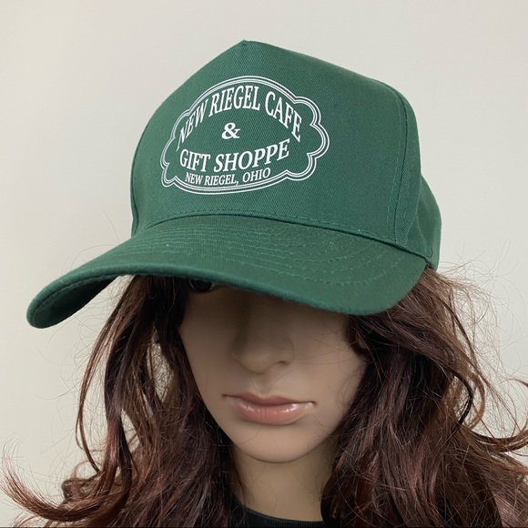 Vintage New Riegel Ohio Forest Green Baseball Cap